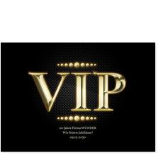 Goldener VIP