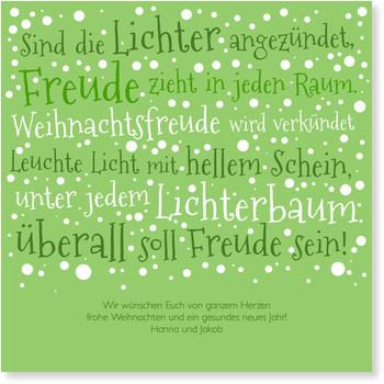 Grün Grün Grün Text