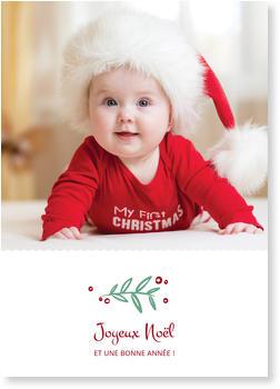 Cartes mon premier Noël | bonnyprints.fr