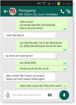 lustige geburtstagseinladung whatsapp