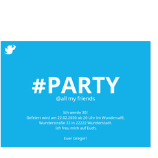 Hashtag Party